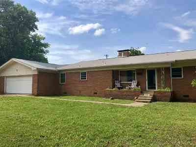 Cushing Single Family Home For Sale: 1222 E 2nd Street
