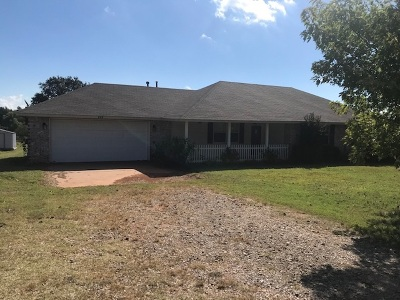 Carney Single Family Home For Sale: 903 S Hwy 177
