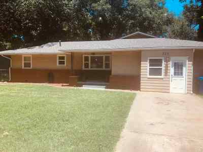 Perkins OK Single Family Home For Sale: $124,500