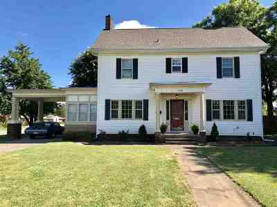 Cushing Single Family Home For Sale: 1035 E Broadway Street