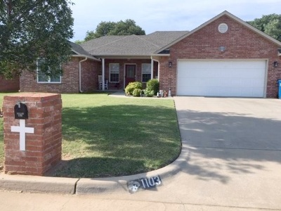 Perkins Single Family Home For Sale: 1103 Crozier Street
