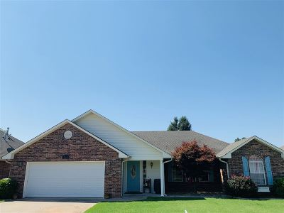 Perkins Single Family Home For Sale: 1102 Crozier Street