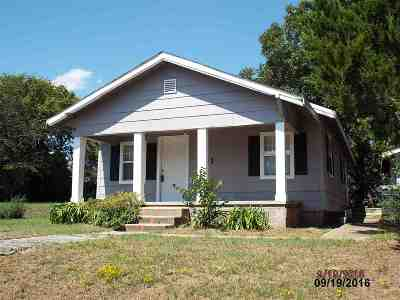 Ardmore OK Single Family Home For Sale: $44,700