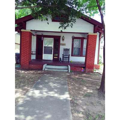 Ardmore OK Single Family Home For Sale: $59,900