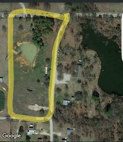Lone Grove Residential Lots & Land For Sale: 3.55 Acres W Blackjack Street