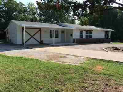 Ardmore OK Single Family Home For Sale: $147,500