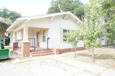 Ardmore OK Single Family Home For Sale: $56,900