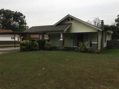 Ardmore OK Single Family Home For Sale: $85,000