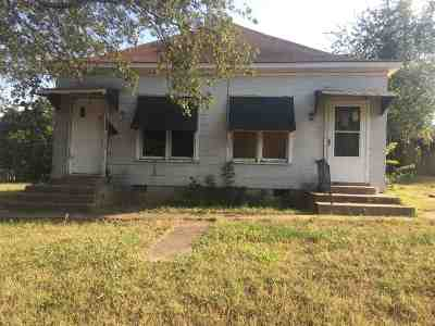 Ardmore OK Single Family Home For Sale: $35,000