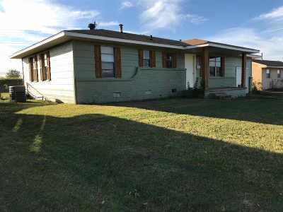 Healdton Single Family Home For Sale: 172 Ruth