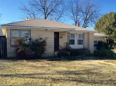 Ardmore, Lone Grove Single Family Home For Sale: 1613 Chickasaw Boulevard