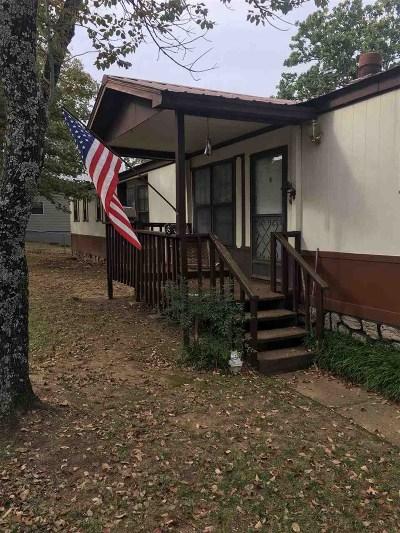 Sulphur OK Single Family Home For Sale: $84,500