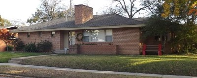 Ardmore OK Single Family Home For Sale: $155,000