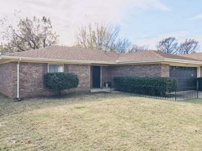 Ardmore Single Family Home For Sale: 718 Cottonwood
