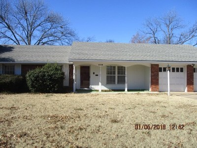 Ardmore OK Single Family Home For Sale: $78,000