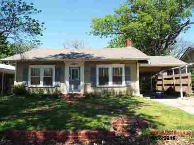 Ardmore OK Single Family Home For Sale: $139,900