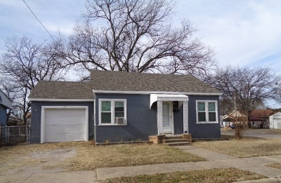Ardmore OK Single Family Home For Sale: $58,900