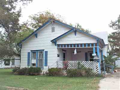 Ardmore OK Single Family Home For Sale: $17,500