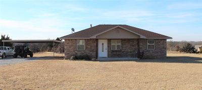Ardmore OK Single Family Home Back On Market: $129,000