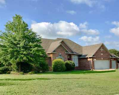 Ardmore OK Single Family Home For Sale: $287,500