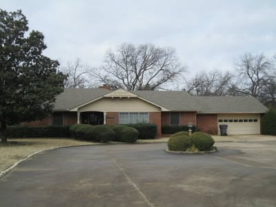 Ardmore OK Single Family Home For Sale: $237,500