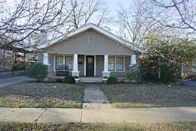 Ardmore OK Single Family Home For Sale: $105,000