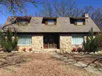 Single Family Home For Sale: 1400 Oak Ridge Street