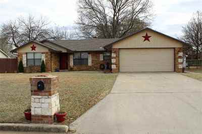 Ardmore OK Single Family Home For Sale: $179,000