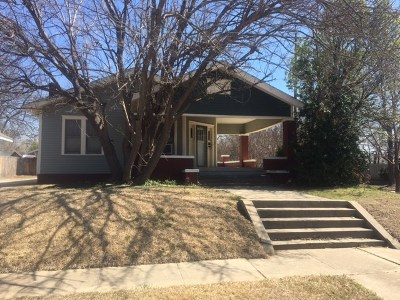 Ardmore OK Single Family Home For Sale: $59,500