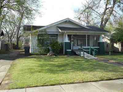 Ardmore OK Single Family Home For Sale: $60,000