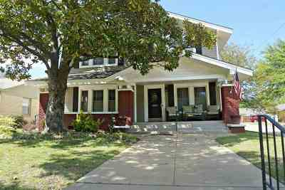 Ardmore Single Family Home For Sale: 1403 Bixby