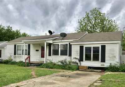 Ardmore, Lone Grove Single Family Home For Sale: 514 Oak