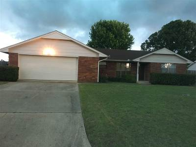 Ardmore OK Single Family Home For Sale: $125,000