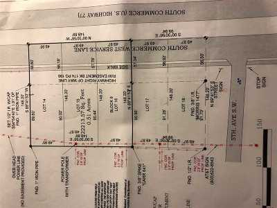 Ardmore Residential Lots & Land For Sale: 1201 17-18 5th SW Ardmore
