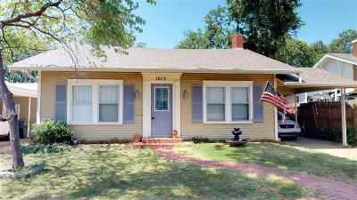 Ardmore Single Family Home New: 1013 SW 3rd