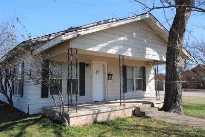 Sulphur OK Single Family Home For Sale: $39,900