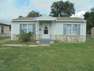 Ardmore OK Single Family Home For Sale: $76,500