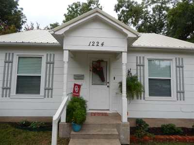 Ardmore OK Single Family Home For Sale: $119,700