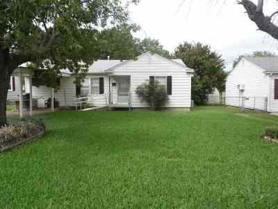 Ardmore OK Single Family Home For Sale: $74,900