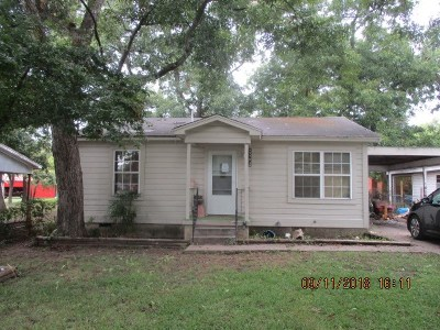 Ardmore OK Single Family Home For Sale: $30,000