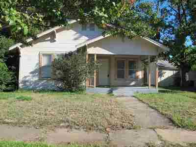 Ardmore OK Single Family Home New: $44,900