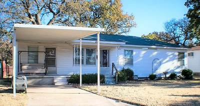Ardmore, Lone Grove Single Family Home For Sale: 1112 SE A Street