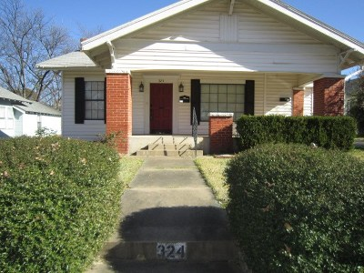 Ardmore Single Family Home For Sale: 324 Wheeler