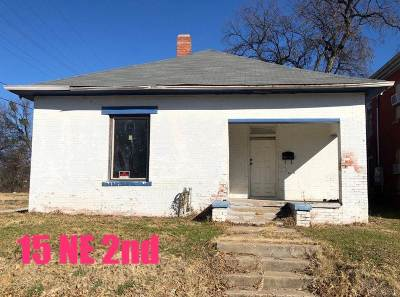 Ardmore Single Family Home For Sale: 15 NE 2nd