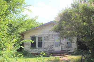 Ardmore OK Single Family Home For Sale: $25,000
