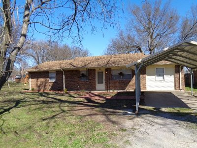 Ardmore OK Single Family Home For Sale: $82,500