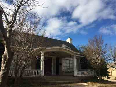 Ardmore OK Single Family Home For Sale: $139,000