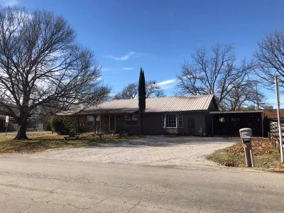 Love County Single Family Home Pending: 1006 Veterans