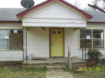 Single Family Home For Sale: 413 W G Street