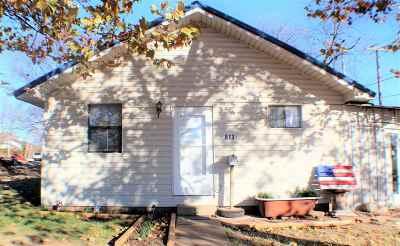 Sulphur OK Single Family Home For Sale: $79,000